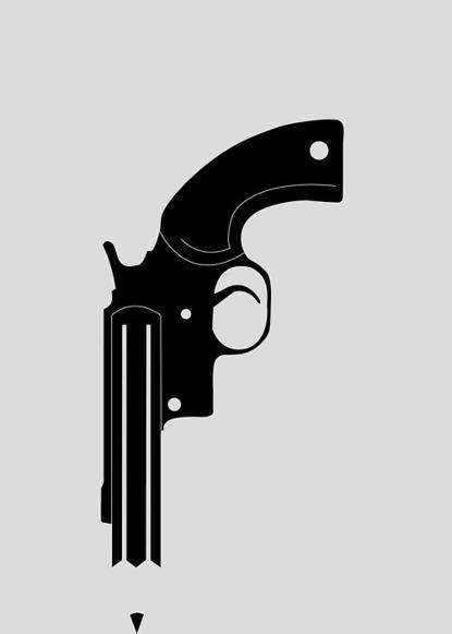 revolver_50x70