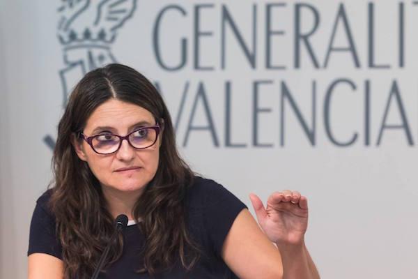 Mónica oltra informa de los temas tratados en la rueda de prensa del Consell