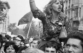 FRANCE. Paris. May 1968.